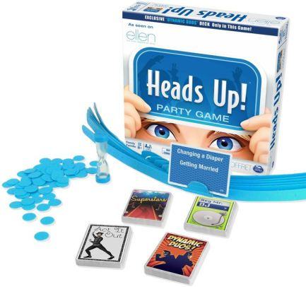 Heads Up Party Board Game Heads Up Game Party Games Trendy Games