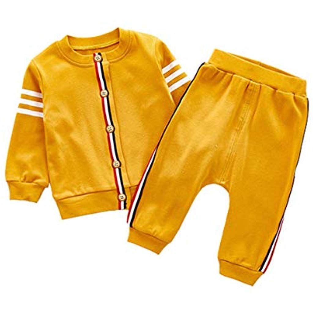 reputable site 34610 d6227 ALLAIBB Baby Unisex Sport-Oberbekleidung-Sets Freizeit ...