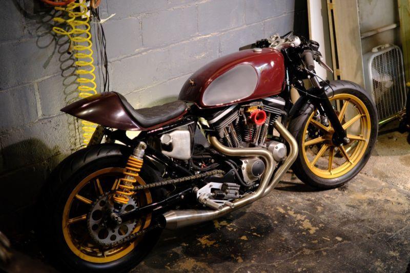 99 Harley Davidson Sportster 1200 Cafe Racer