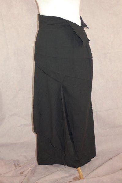 Xenia Design Asymmetric Long Skirt 38 Lagenlook Art To Wear #XDXeniaDesigns #Asymmetrical