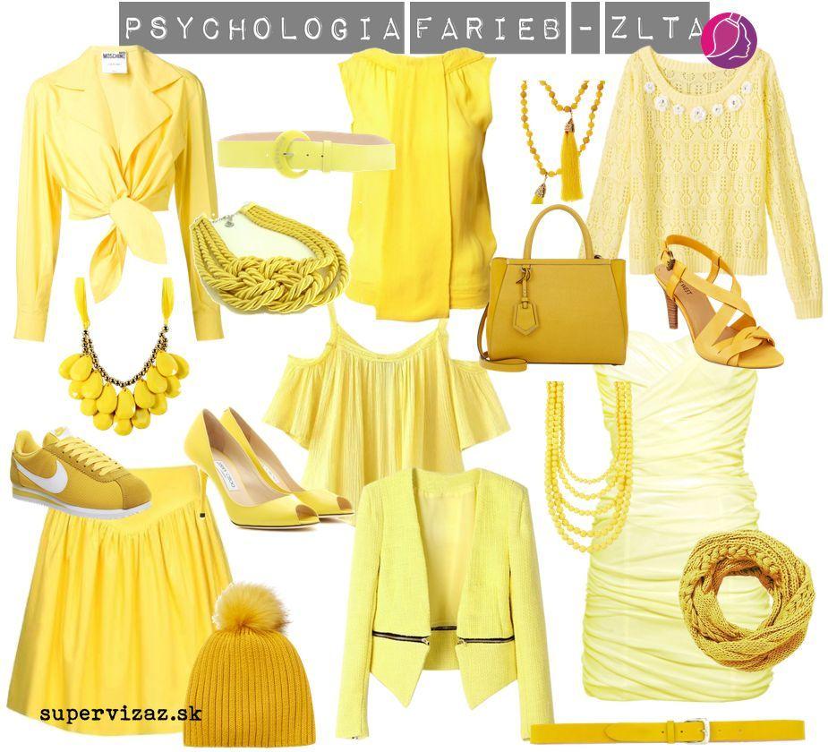 Psychológia farieb – žltá