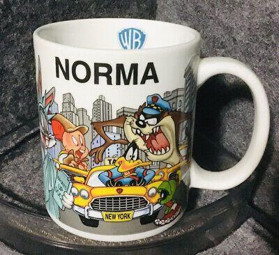 Warner Bros. Character Theme Personalized NORMA Coffee Mug Cup | eBay