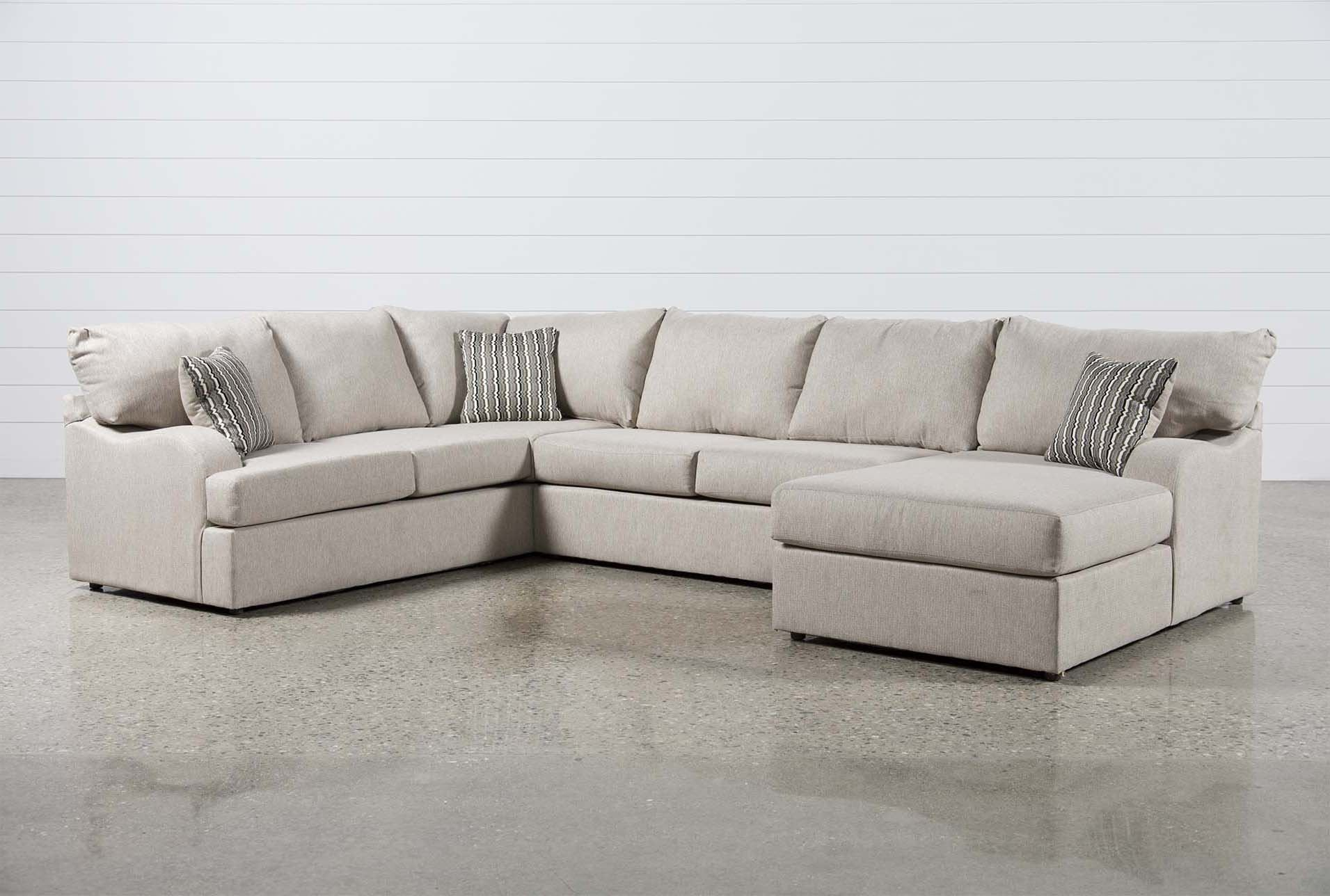 Meyer 3 Piece Sectional With Right Arm Facing Chaise Sectional