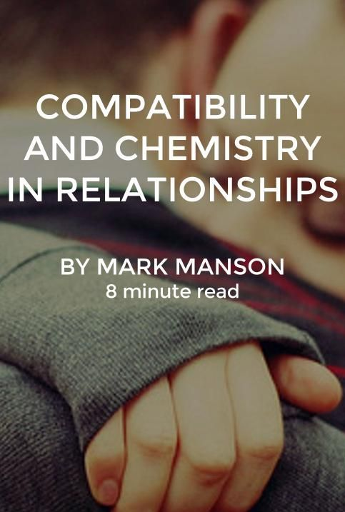 What is chemistry in dating relationships