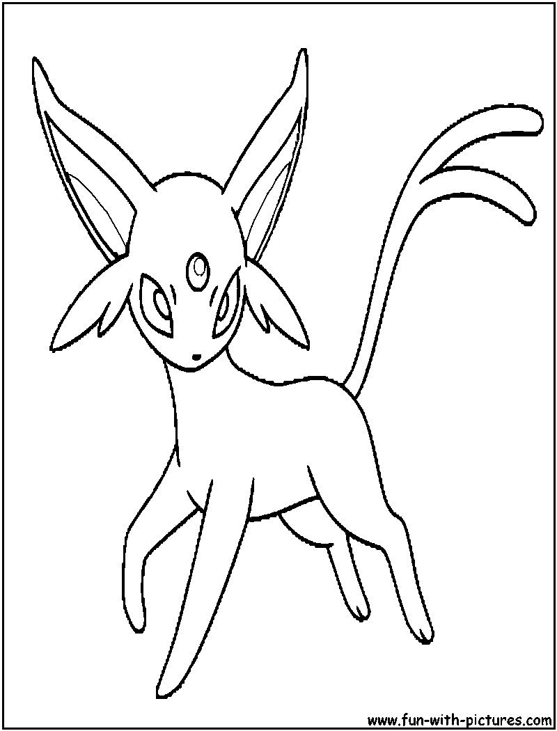 Pokemon Espeon Coloring Pages Through The Thousand Photos On The Web Concerning Pokemon Espeon C Cartoon Coloring Pages Pokemon Coloring Pages Coloring Pages