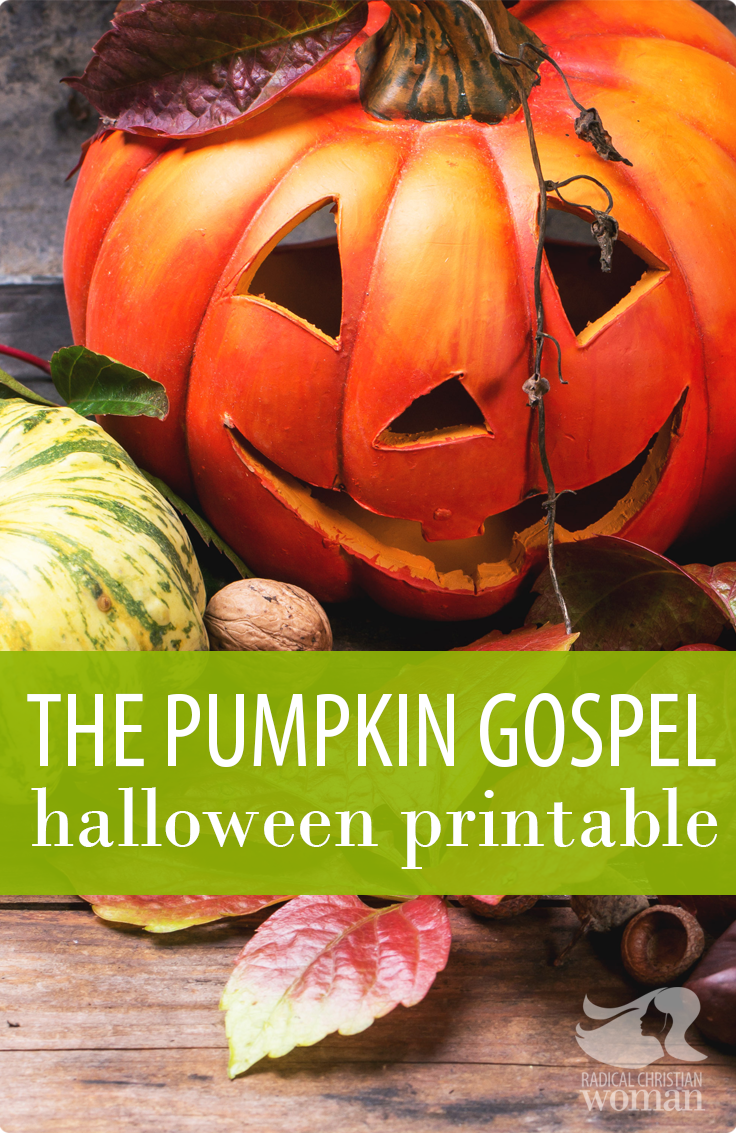 photograph about Pumpkin Gospel Printable called Pumpkin Gospel - Totally free Printable for Halloween Vacation
