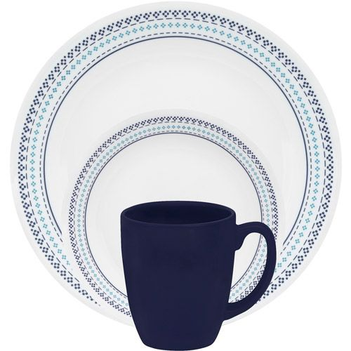 #Corelle  Folk Stitch  @ walmart.com #corelledining #dinnerware  sc 1 st  Pinterest & Corelle