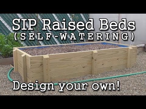 How To Build A Self Watering Sub Irrigated Raised Garden Bed