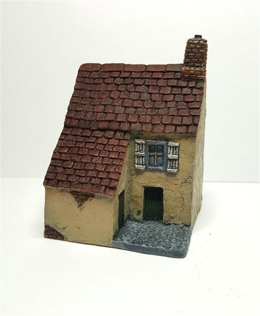 European Townhouse #2 -Battle Scale Wargames Buildings 10mm – 15mm