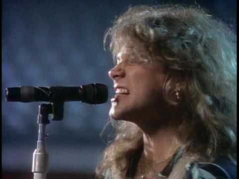 "Bonjovi "" I'll Be There For You"" this video takes me bak to when I was 14 & so in love with Jon Bonjovi <3"