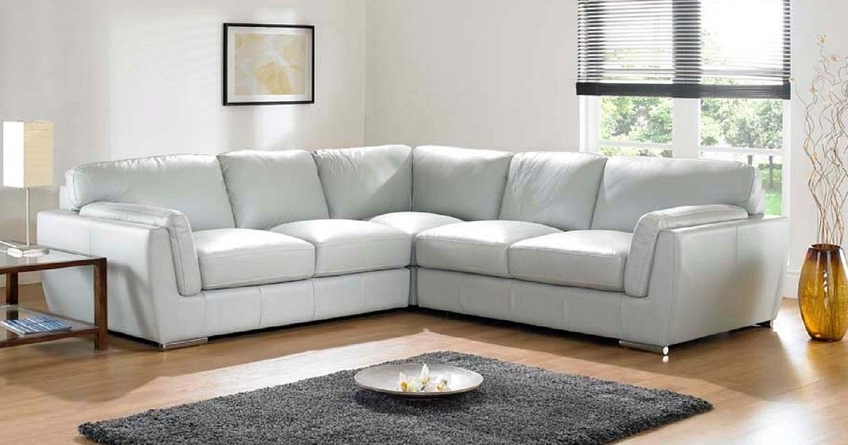 How To Clean Your White Leather Sofa To Keep It Bright As New White Leather Sofas White Leather Couch Leather Corner Sofa