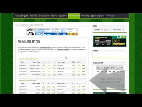 Accumulator calculator betting tools plus world sport betting uganda new vision