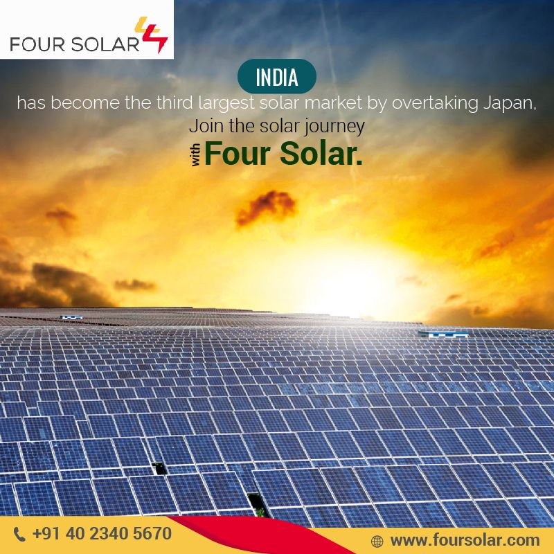 Pin by four solar on Four Solar Solar, Rooftop, Hyderabad