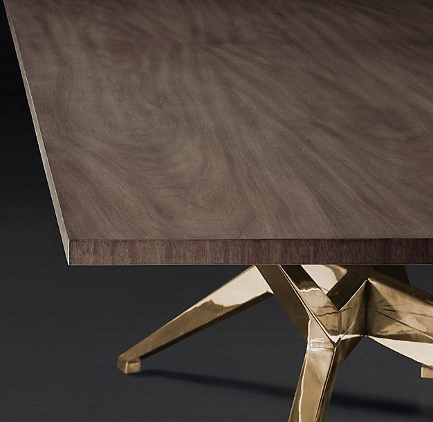 rh modern s maslow spider rectangular dining table with its spider rh pinterest com