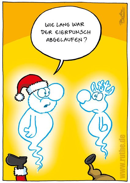 eierpunsch lustig ruthe weihnachten cartoon. Black Bedroom Furniture Sets. Home Design Ideas