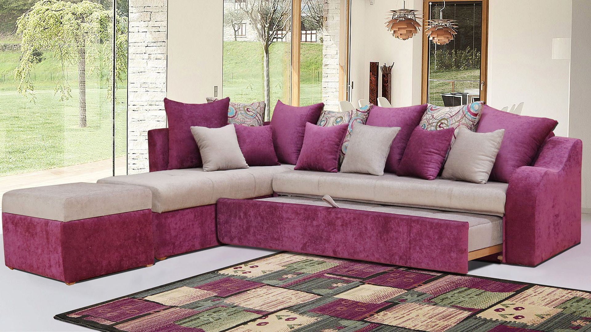 Alex ركنات مودرن تركى ركنه سرير Sectional Couch Room Home Decor