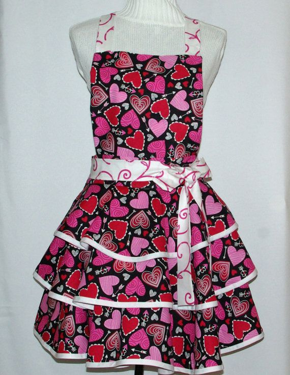 Sexy Valentine Apron Custom Personalize With By AGiftToTreasure