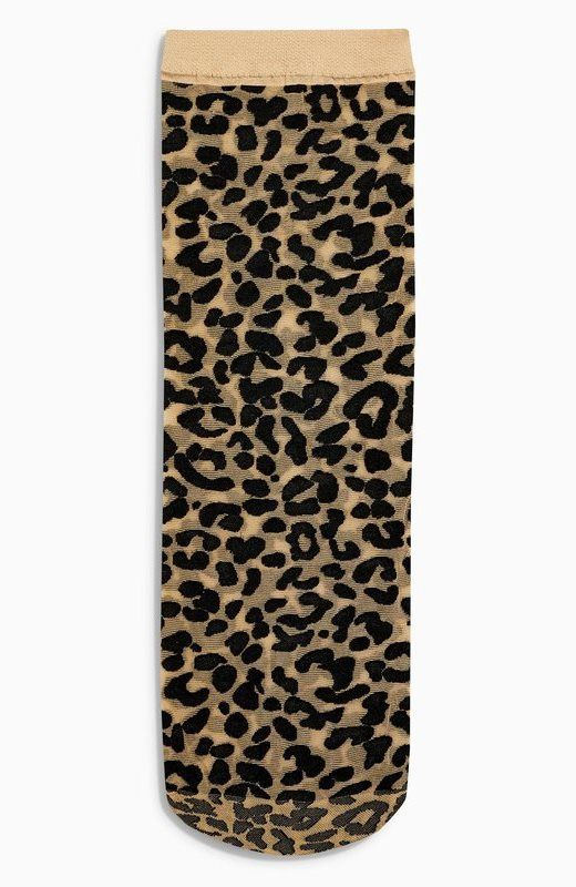 c8e6f596e3b Sokken met luipaardprint - Dames
