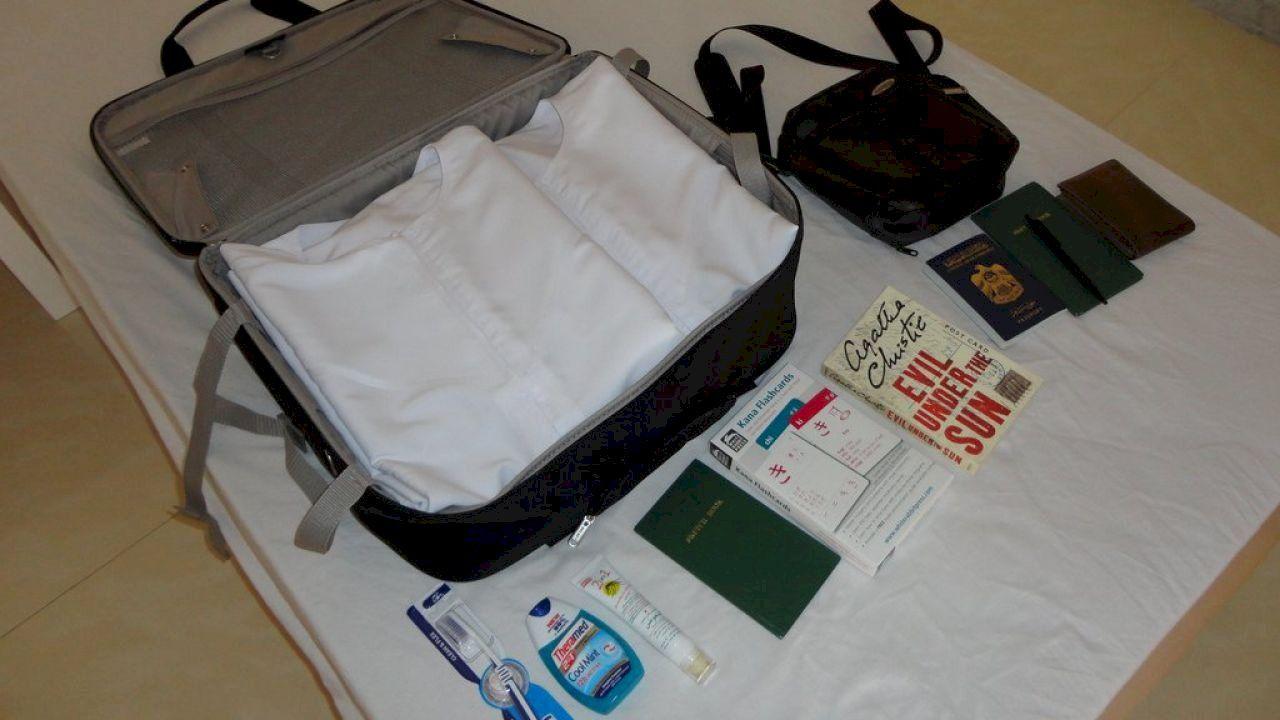 كيفية تجهيز شنطة السفر Travel Bag Suitcase Bags
