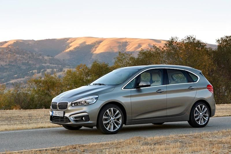 The New Bmw 2 Series Active Tourer Comes With A Choice Of Three