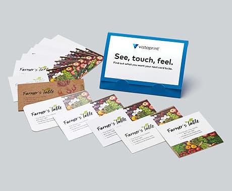 Free Business Cards Sample Kit Vistaprint Free Business Cards Vistaprint Business Cards Free Business Card Templates