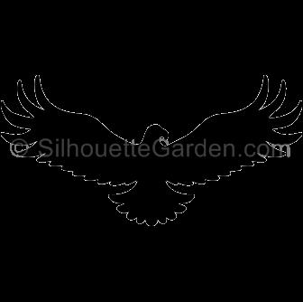 Eagle silhouette Transparent Images PNG.