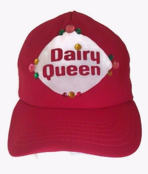 e14a7fd4abf New Era Hat DAIRY QUEEN Promo Pro Design Truckers Mesh Snapback Dupont  Visor  NewEra  TruckersMeshSnapback