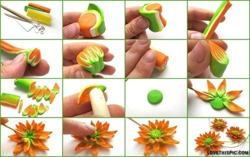 Diy beautiful clay flower pictures photos and images for facebook diy beautiful clay flower diy diy ideas diy crafts do it yourself crafts easy crafts fun crafts kids crafts diy tips diy images do it yourself images diy solutioingenieria Images
