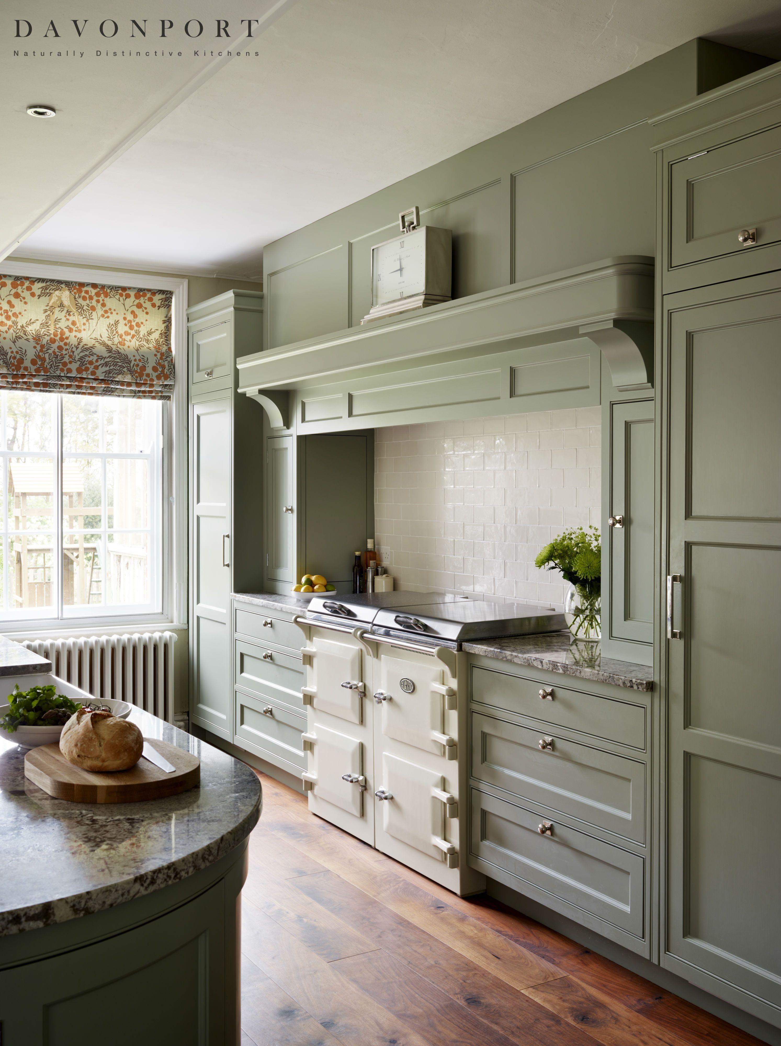 Grand Kitchen Farmhouse kitchen design, Green kitchen