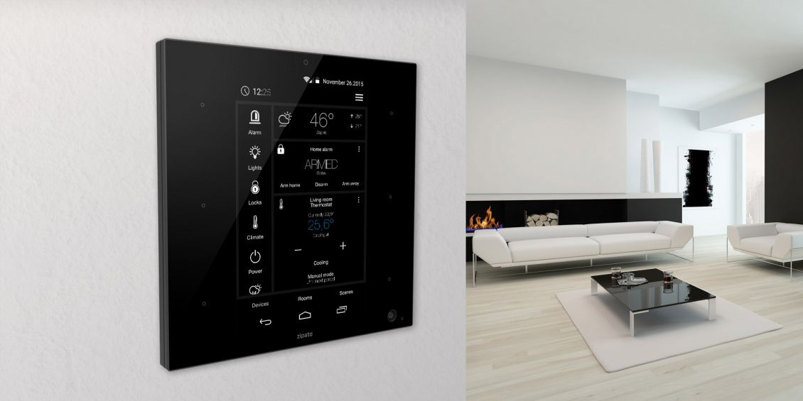 CES 2016 ZipaTile All-in-One SmartHome Gateway mit HomeKit haus