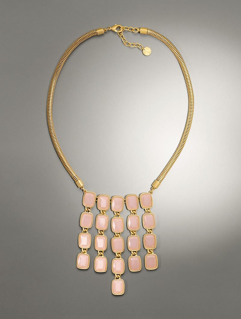 Talbots - Cabochon Drop Necklace | Accessories |