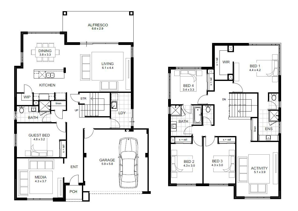 bedroom house designs australia also plantas de casas sobrados rh pt pinterest