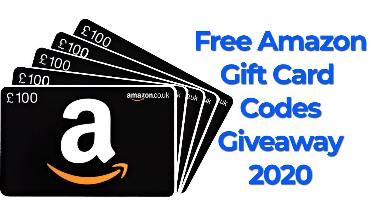 Free Amazon Gift Card 2020 Amazon Gift Card Codes Giveaway
