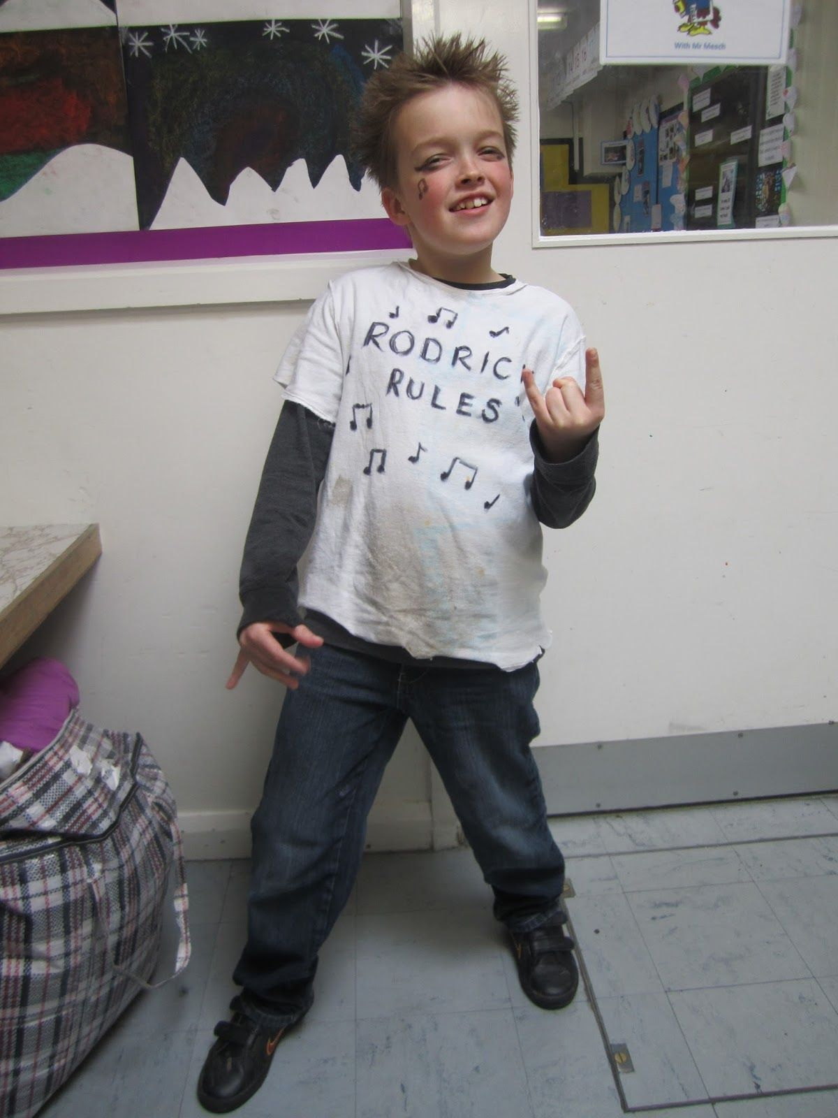 Diary of a Wimpy Kid Rodrick Rules Book character day