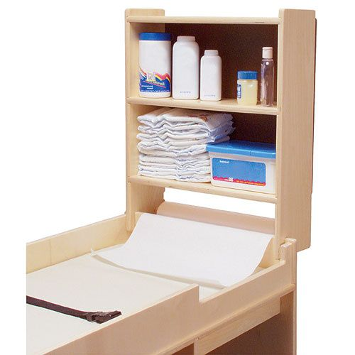 Swp1110 Changing Table Shelf W Paper Roll Holder Paper