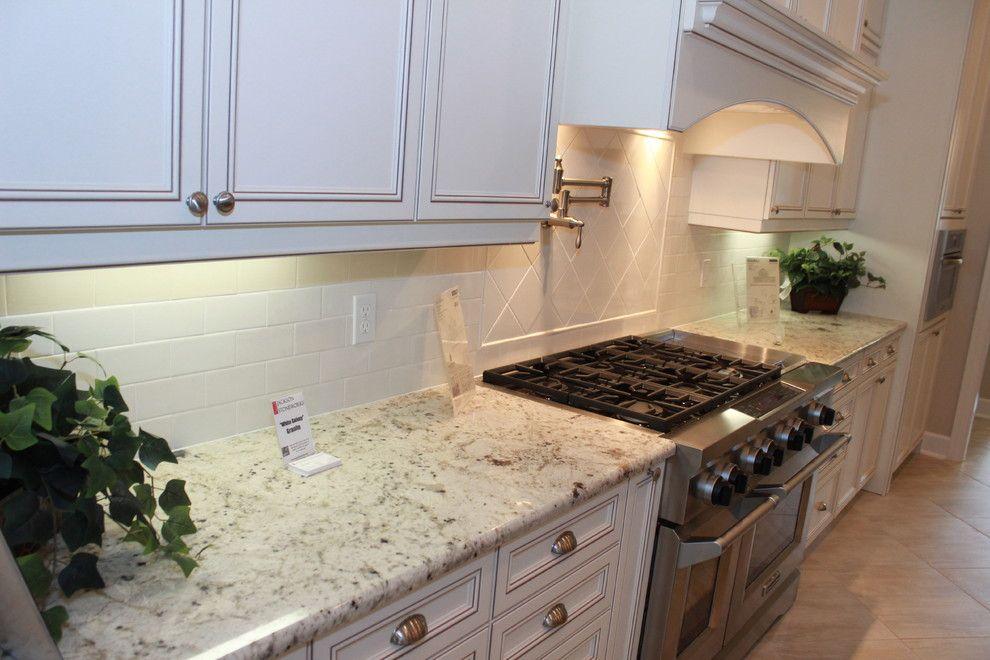 Visualize Riviera White With Images Kitchen Design Granite Countertops Prefab Granite Countertops White Granite Kitchen