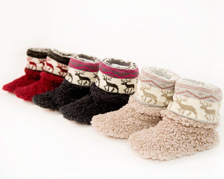 Beverly Reindeer Slippers