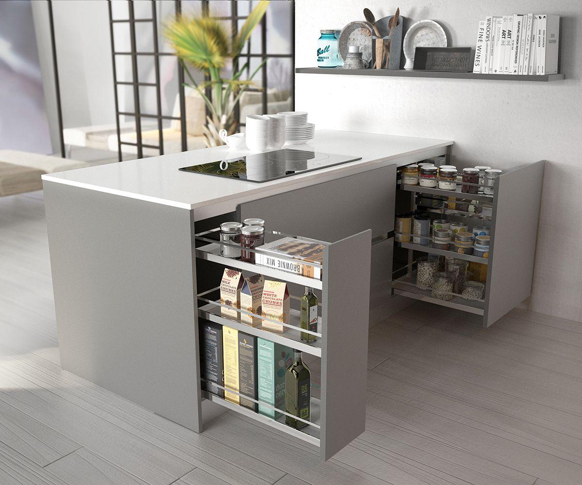 Despensero confort de nuestra cocina gand a orden en la for Planos de una cocina pequena