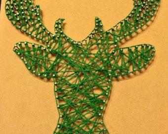 Cadena arte Hexa-flores por DeRevesEnReves en Etsy