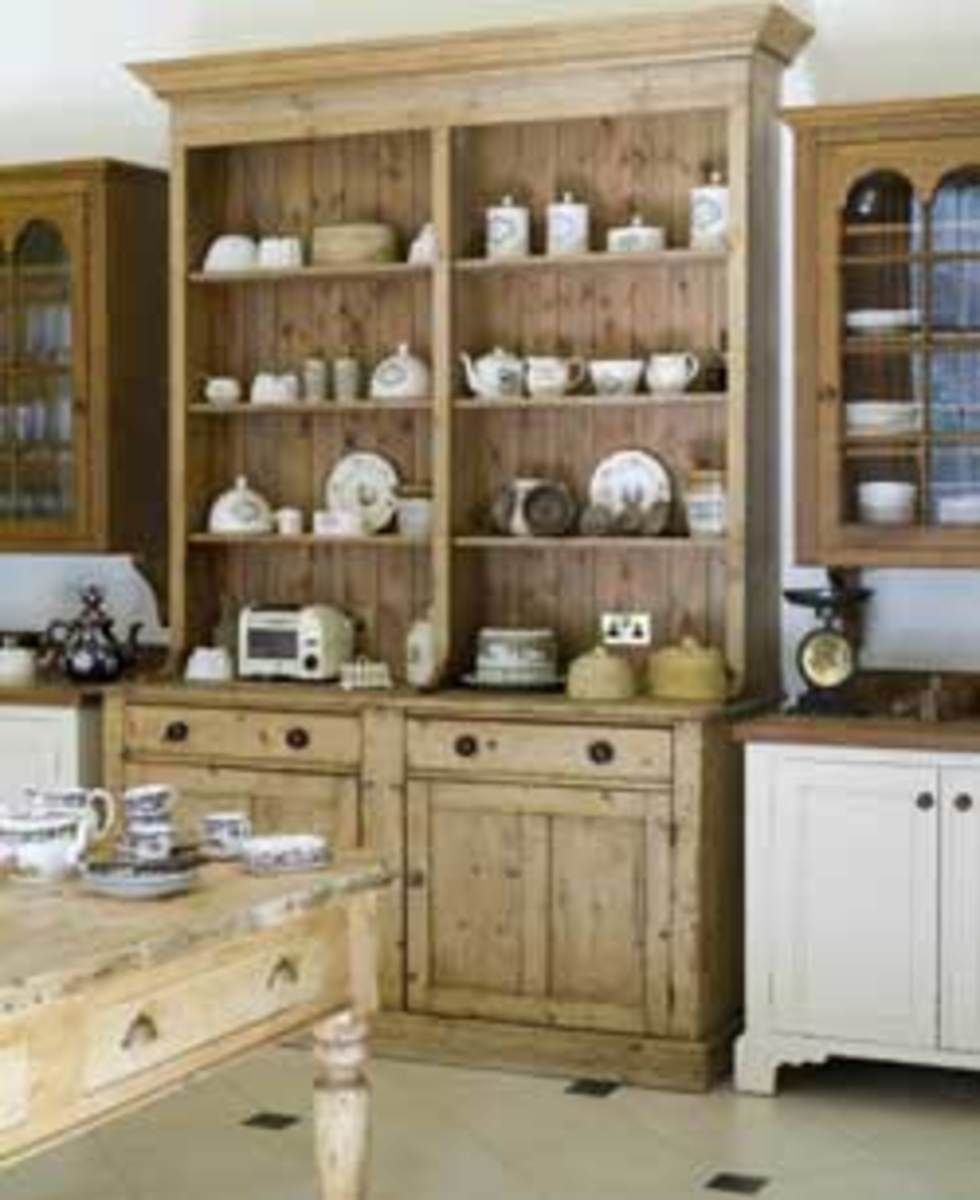 A Model Kitchen For The Georgian Era Freestanding Kitchen Free
