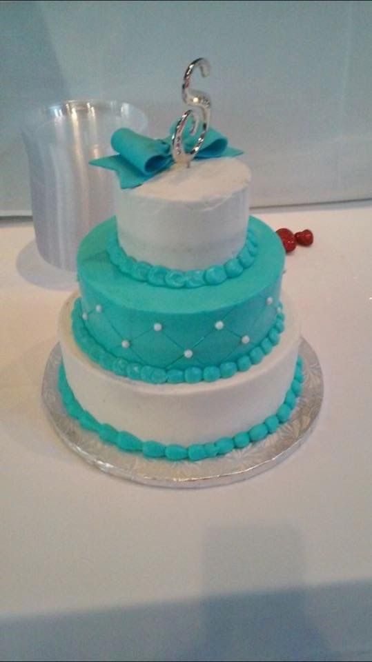 Cake from Sams Club turquoise wedding pictures Pinterest Cake