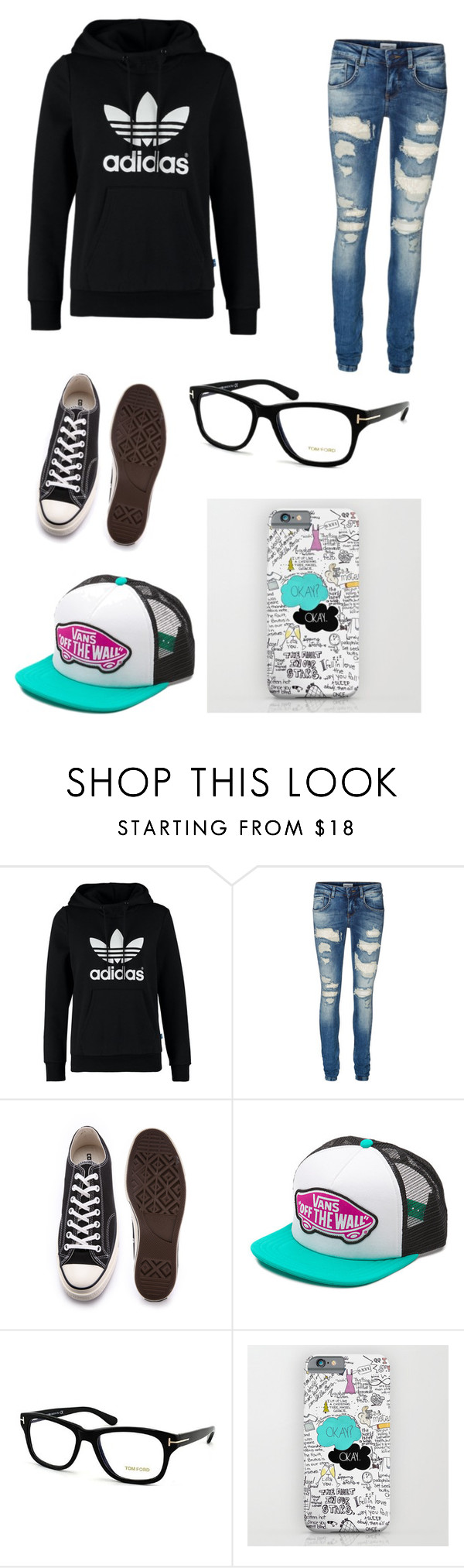 """First Day At School For A Nerdy Gamer Girl"" by officalzkeisha ❤ liked on Polyvore featuring interior, interiors, interior design, ev, home decor, interior decorating, adidas Originals, Vero Moda, Converse ve Vans"
