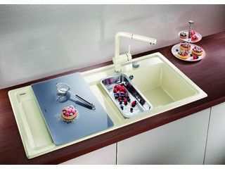 Cuisine • moderne • évier • Plan de travail • www.blanco-germany.com # livios.be