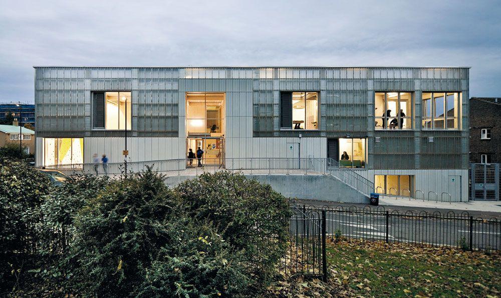 Jugendzentrum in london detail inspiration