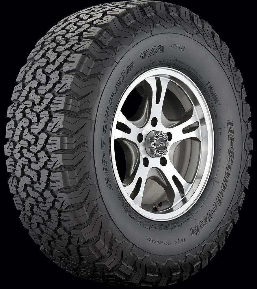 Bfgoodrich All Terrain T A Ko2 Goodrich Tire Truck Wheels