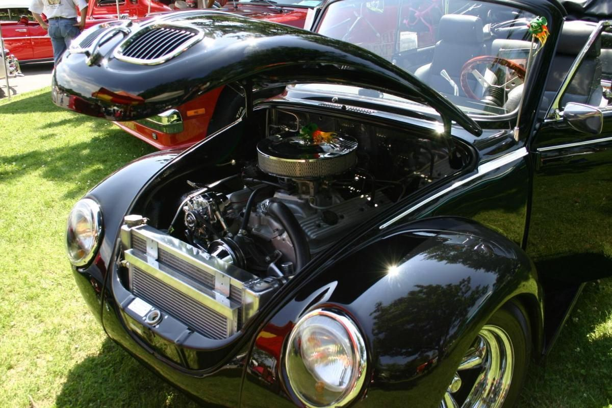 Custom 1973 VW Super Beetle Convertible Street Rod Vw