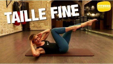 Circuit training pour avoir un ventre plat - Fitness Master Class | Taille fine, Exercice taille ...