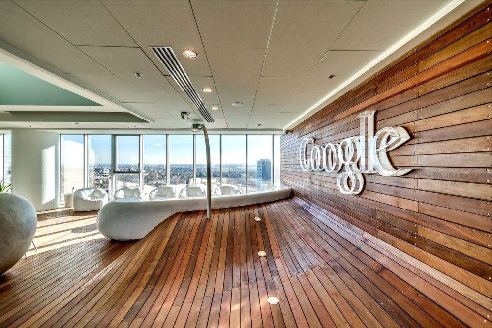 Google Office Tel Aviv I love the natural wood element Could we