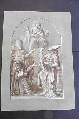 ITALIAN-VENETIAN SCHOOL 18thC - RELIGIOUS SCENE CIRCLE RICCI - ASCENSION OF MARY https://t.co/z5wpimmO0c https://t.co/dsOTVOVMMQ
