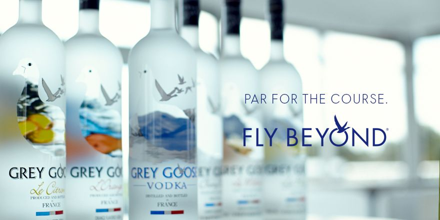 Teeing off at the Zurich Classic in New Orleans with the World's Best Tasting Vodka.